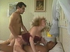 vintage,group sex,double penetration