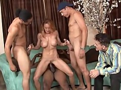 cuckold,gangbang,interracial